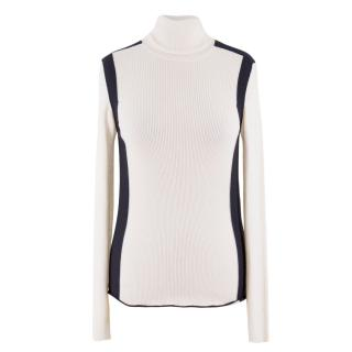 Louis Vuitton Ribbed Wool Turtleneck Sweater