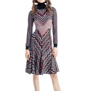 Missoni Pre-Fall '17 Multi Knit Fit & Flare Dress