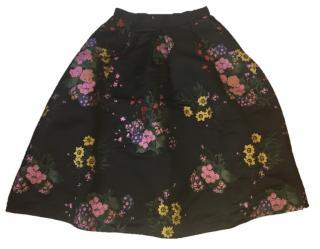 Erdem x H&M floral skirt