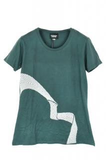 Christopher Raeburn abstract print green T-shirt