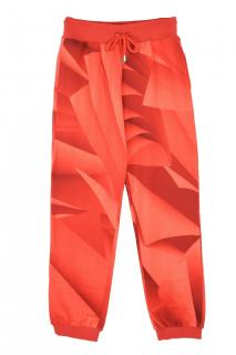 Christopher Kane red page print joggers