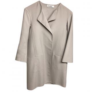 Jil Sander 100% Cashmere Coat
