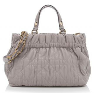 Dior Cannage Quilted Leather Delices Tote