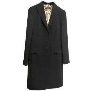 Dolce & Gabbana Wool Fitted Jacket
