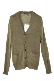 BLK DNM mohair & wool blend cardigan