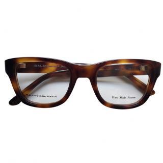 BALENCIAGA brown glasses