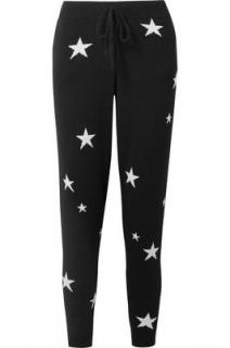 Chinti & Parker Star Intarsia Cashmere Joggers