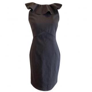 Emilio Pucci Ruffle Neck Dress