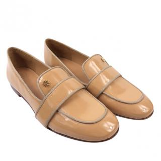 Tory Burch Evette Nude Patent Loafer