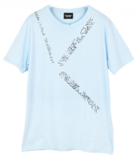 Christopher Raeburn abstract print T-shirt