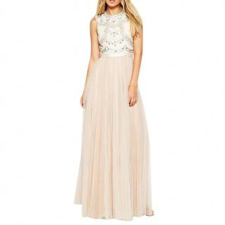 Needle & Thread Embellished Lace Bodice Evening Dress
