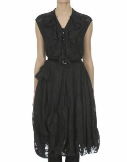 Claire Campbell �500 Hoedown Ruffle Asymmetric Dress New UK12