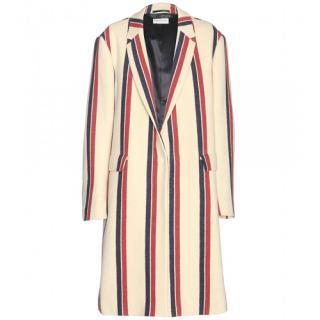Dries Van Noten striped coat