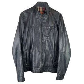 Boss Hugo Boss Jips 3 Leather Biker Jacket