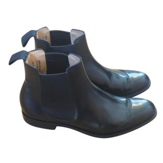 Churchs Black Leather Houston Chelsea Boots