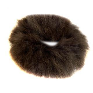 Yves Salomon Fox Fur Scarf