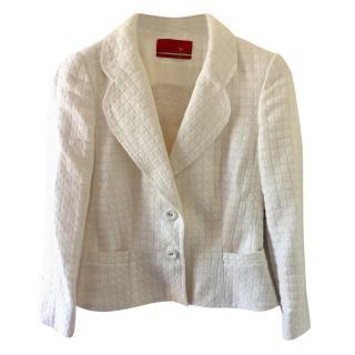 Carolina Herrera off white jacket