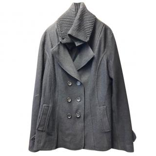 Marc Cain Double Breasted Wool Coat