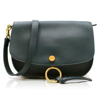 Chloe Teal Medium Cross-body Bag