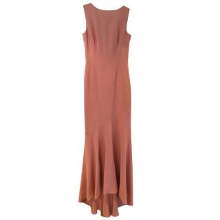 Victoria Beckham Cadillac Pink Evening Gown