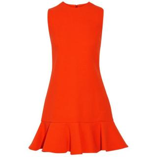 Victoria Victoria Beckham Fluted Mini Dress