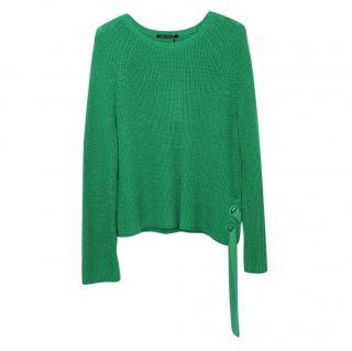 Luisa Cerano Emerald Rib Knit Sweater