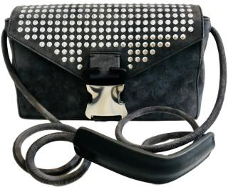 Christopher Kane Devine Suede Bag