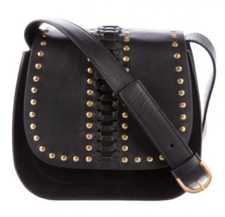 Belstaff X Liv Tyler Black Leather Aletta Bag