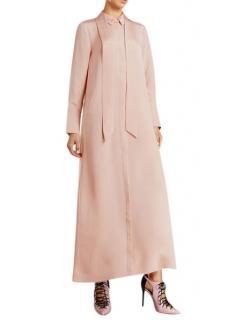 Layeur Silk Maxi Shirt Dress - Current Season