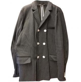 Yohji Yamamoto polka dot jacket