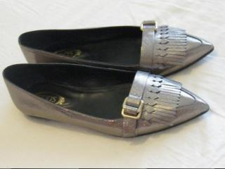 Tod's Fringed Buckle Loafers