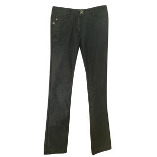 Angelo Galasso Black Classic Jeans