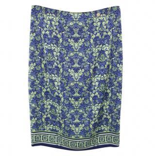 Versace Collection Printed Skirt