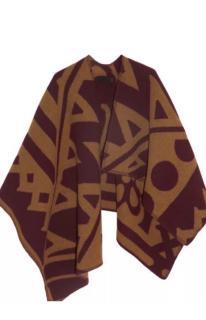 Burberry Knit Poncho