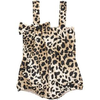 Charlotte Olympia X Adriana Degreas Girl�s Leopard Print Playsuit
