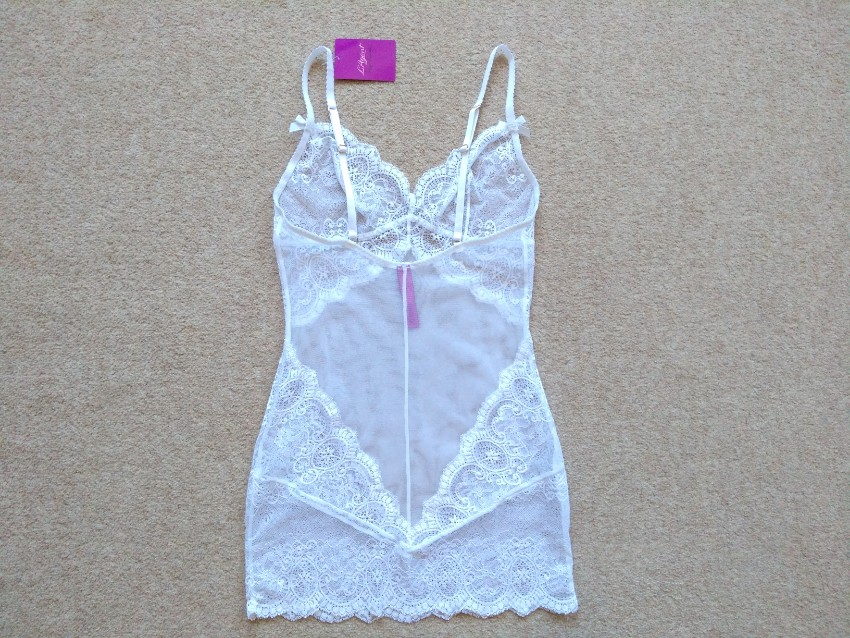 Black Size Small New with Tags RRP125 L/'Agent by Agent Provocateur Vanesa Slip