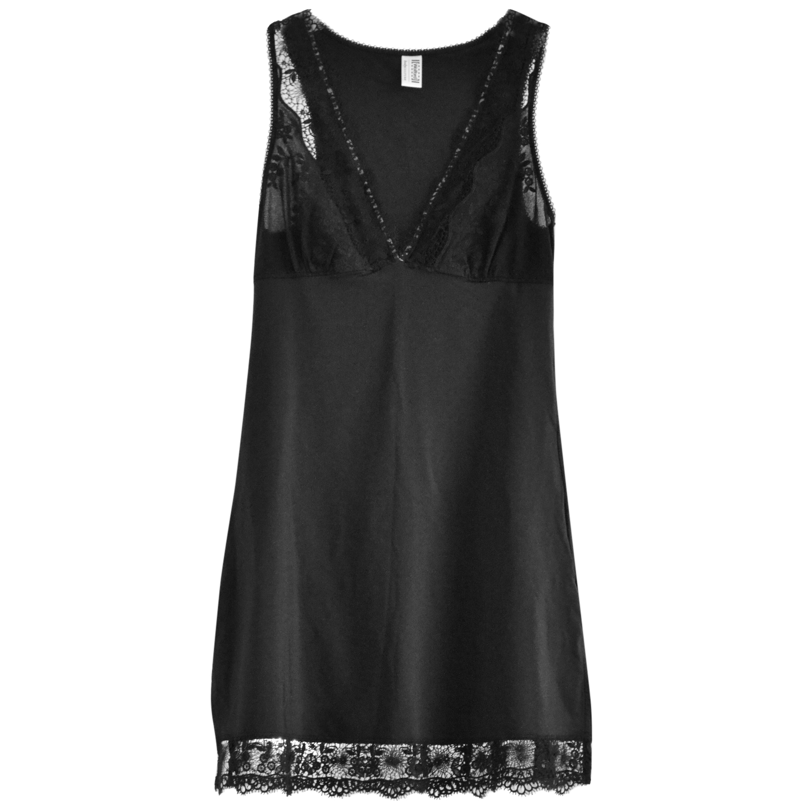 Wolford lace-trimmed slip dress