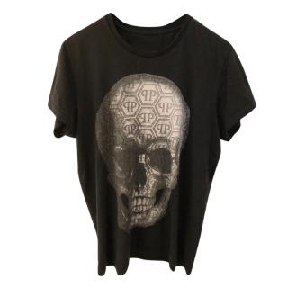 Philipp Plein Logo Skull tshirt