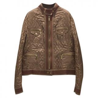 Moncler Brown Lightweight Jacket