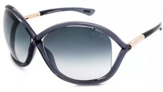 Tom Ford FT09 Dark Grey WhitneySunglasses