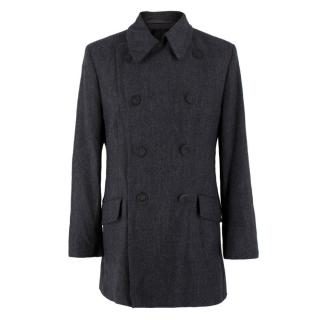 Richard James Wool & Cashmere Blend Tweed Jacket