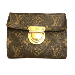 Louis Vuitton Monogram Canvas Joey coin wallet