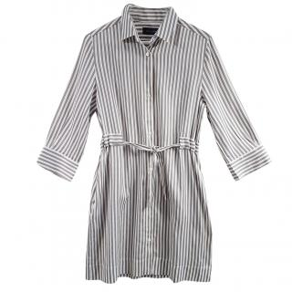 Piazza Sempione Striped shirt dress