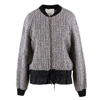 Phillip Lim Braided Brocade Bomber Jacket