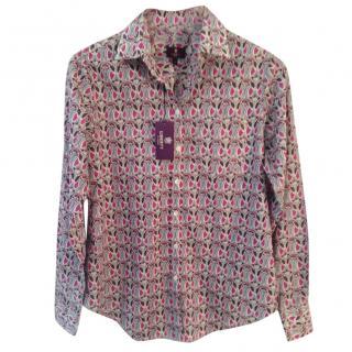 Liberty Art Fabrics Mauverina C Tana Lawn cotton shirt