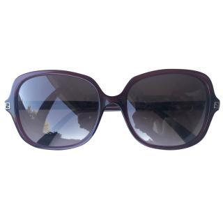 Fendi Bordeaux sunglasses