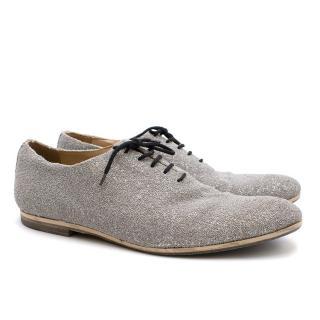 Acne Studios Missoni Bead Silver Shoes