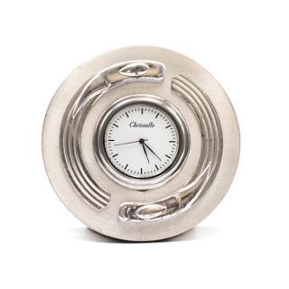 Christofle Vintage Silver Plated Desk Clock