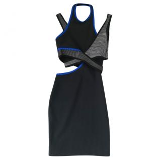 Alexander Wang x H&M neoprene cutout dress