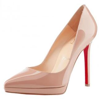 Christian Louboutin 120mm Pigalle Plato Pumps